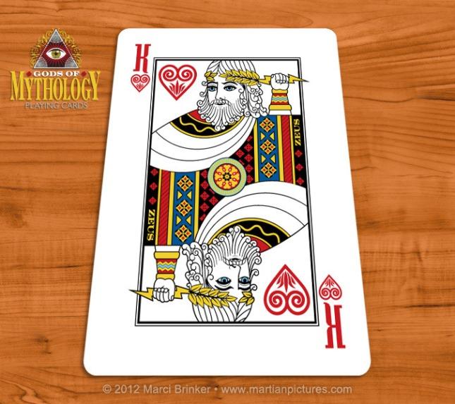 Gods_of_Mythology_Playing_Cards_Zeus