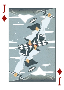 Royal-Seasons-Playing-Cards-Diamonds-Winter-Jack-of-Diamonds