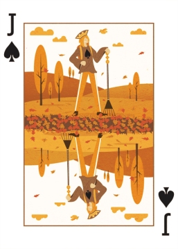 Royal-Seasons-Playing-Cards-Spades-Fall-Jack-ofSpades