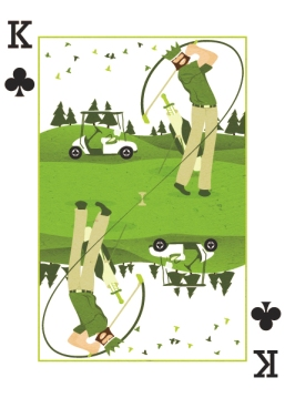 Royal-Seasons-Playing-Cards-Clubs-Spring-King-of-Clubs