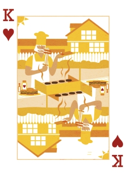 Royal-Seasons-Playing-Cards-Hearts-Summer-King-of-Hearts