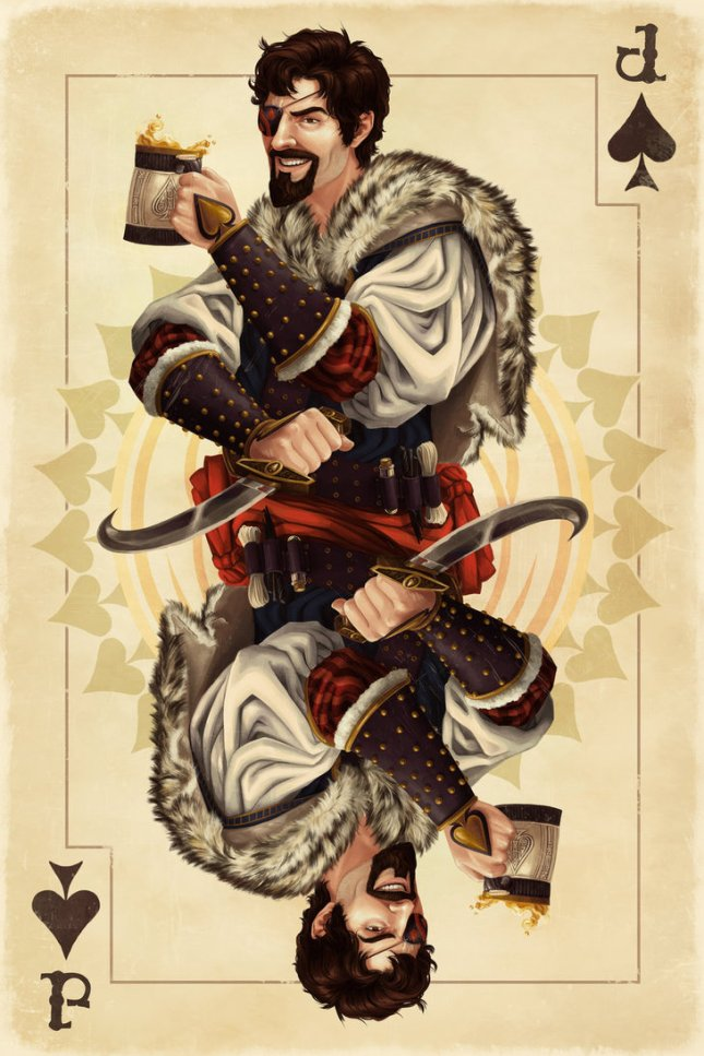 deviantart  playing cards by alix branwyn