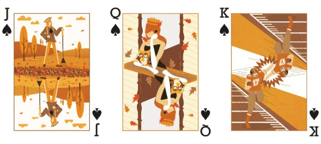 Royal-Seasons-Playing-Cards-Spades-Fall-Jack-Queen-King
