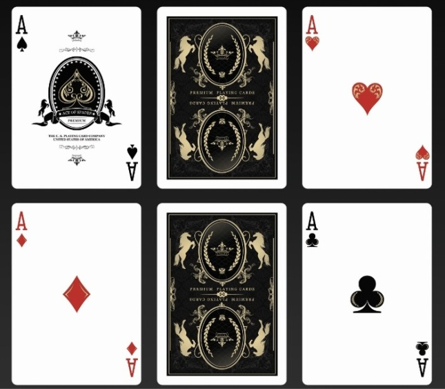 Bicycle_Majestic_Playing_Cards_Aces