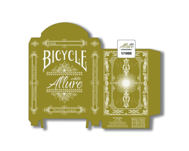 Bicycle_White_Allure_Playing_Cards_Gold_Box