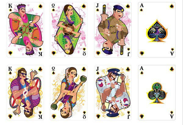 Cocktail_art_Playing_Cards_Spades_Clubs