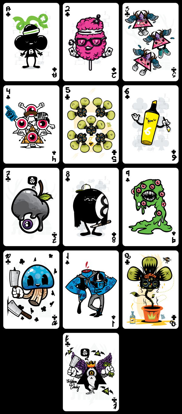 Demons_&_Diamonds_Playing_Cards_Clubs