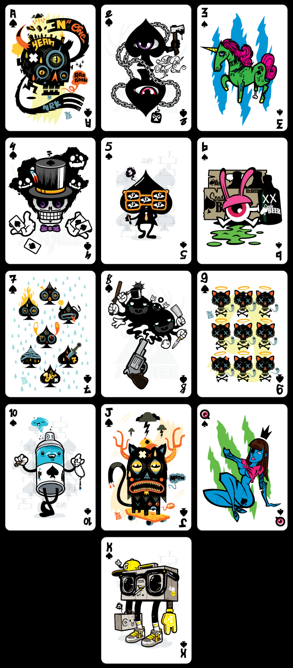 Demons_&_Diamonds_Playing_Cards_Spades