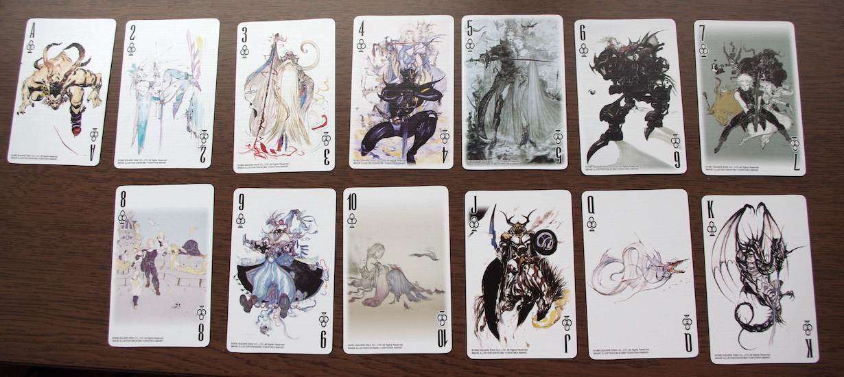 Playing cards with fantasy naked pictures very