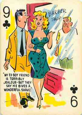 GGA_Cartoons_Playing_Cards_The_Nine_of_Clubs
