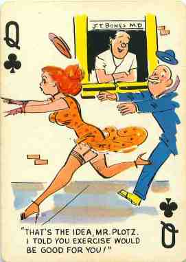GGA_Cartoons_Playing_Cards_The_Queen_of_Clubs