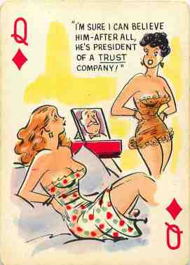 GGA_Cartoons_Playing_Cards_The_Queen_of_Diamonds