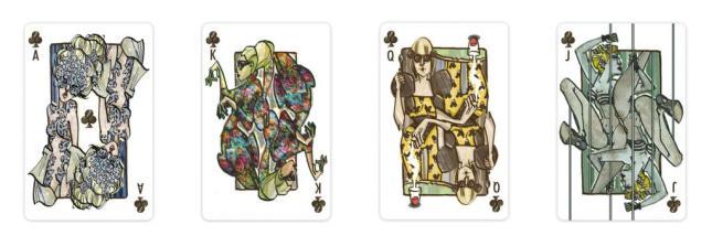 Lady-Gaga-Playing-Cards-Clubs