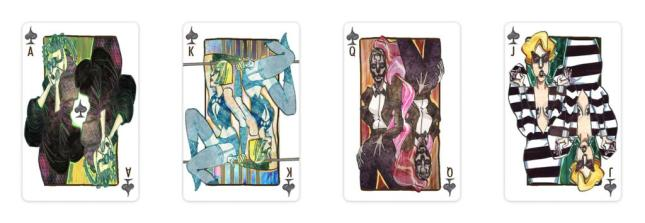 Lady-Gaga-Playing-Cards-Spades
