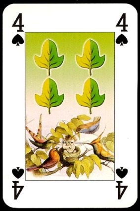 Lo_Scarabeo_The_Fairy_People_The_Four_of_Spades