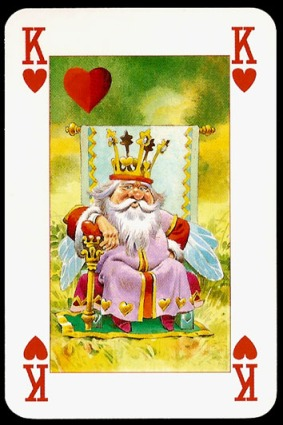 Lo_Scarabeo_The_Fairy_People_The_King_of_Hearts