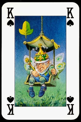 Lo_Scarabeo_The_Fairy_People_The_King_of_Spades