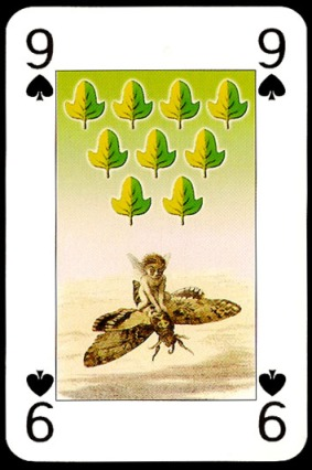 Lo_Scarabeo_The_Fairy_People_The_Nine_of_Spades