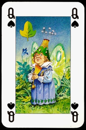 Lo_Scarabeo_The_Fairy_People_The_Queen_of_Spades