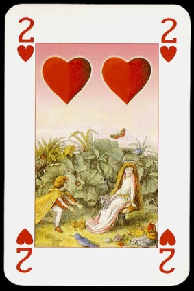 Lo_Scarabeo_The_Fairy_People_The_Two_of_Hearts