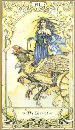 Mystic_Faerie_Tarot_The_Chariot