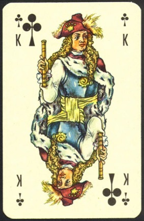 Nevskie_Playing_Cards_The_King_of_Clubs