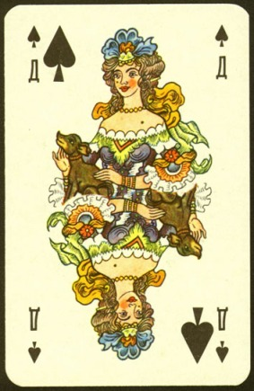 Nevskie_Playing_Cards_The_Queen_of_Spades