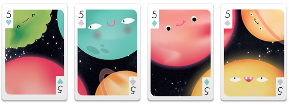 Versus-1-Playing-Cards-five