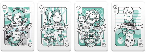 Versus-1-Playing-Cards-Queens