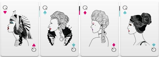 Versus-2-Playing-Cards-Queens