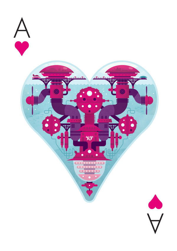 Versus-2-Playing-Cards-The-Ace-of-Hearts