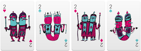 Versus-2-Playing-Cards-two