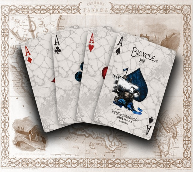 Voyager_Bicycle_Playing_Cards_Aces