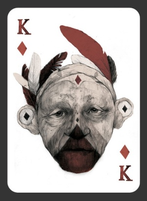52-Aces-Playing-Cards-The-King-of-Diamonds