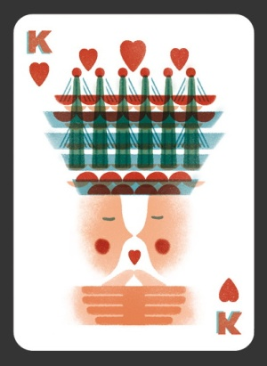 52-Aces-Playing-Cards-The-King-of-Hearts
