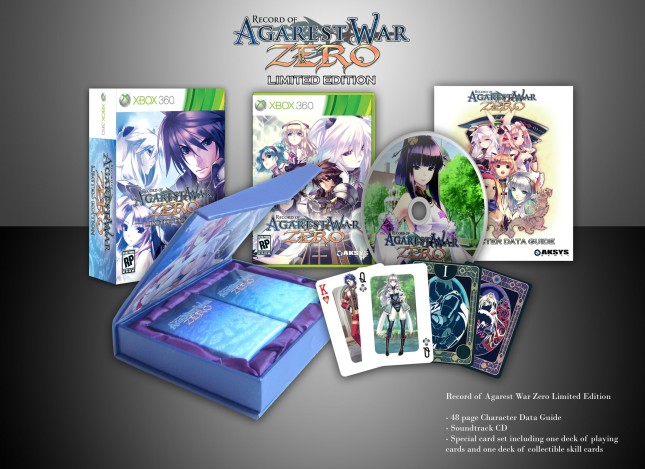 Agarest Generations_of_War_Zero_Playing_Cards