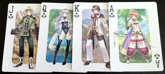 Agarest Generations_of_War_Zero_Playing_Cards_Clubs