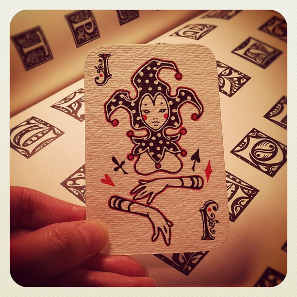 Audrey-Kawasaki-Playing-Cards-Joker