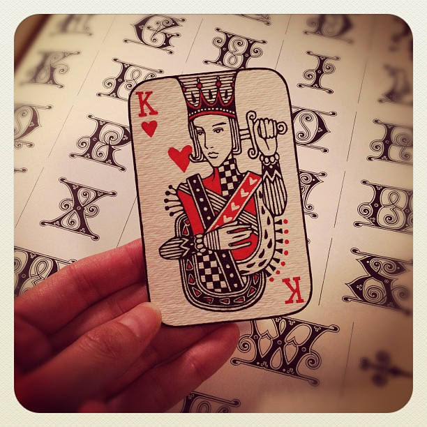 Audrey-Kawasaki-Playing-Cards-King-of-Hearts