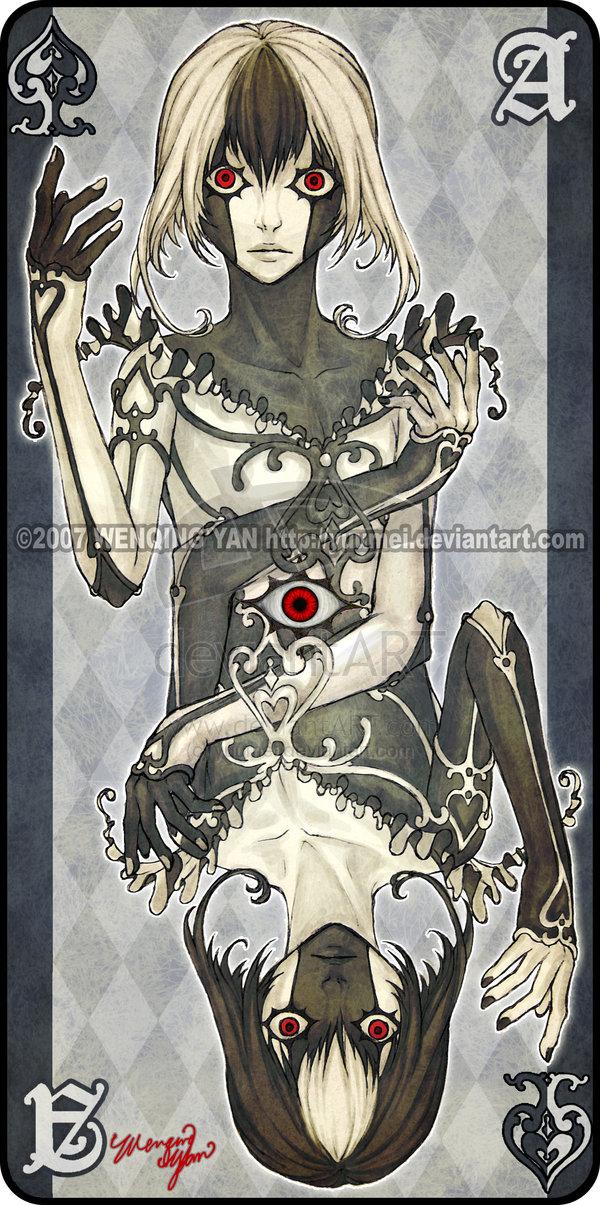 DeviantART: Augen Auf Playing Cards by Wenqing Yan ...
