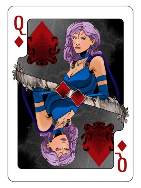 Bicycle_Instruments_of_War_Playing_Cards_The_Queen_of_Diamonds