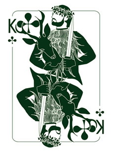 Binth_Joker_Playing_Cards_The_King_of_Clubs