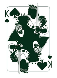 Binth_Joker_Playing_Cards_The_King_of_Spades