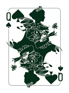 Binth_Joker_Playing_Cards_The_Queen_of_Spades