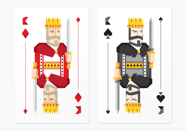Frederico_Birchal_Dark_Side_Playing_Cards_Kings