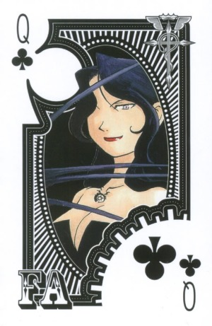 Fullmetal-Alchemist-Playing-Cards-Queen-of-Clubs