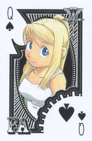 Fullmetal-Alchemist-Playing-Cards-Queen-of-Spades