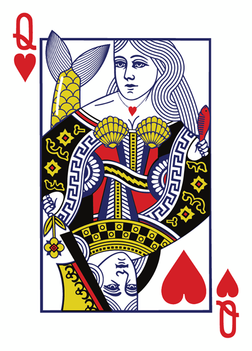 Great_Whites_Playing_Cards_Queen_of_Hearts