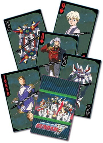 GUNDAM_WING_PLAYING_CARDS