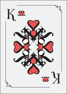 Haley_Walker_Typographic_Playing_Cards_King